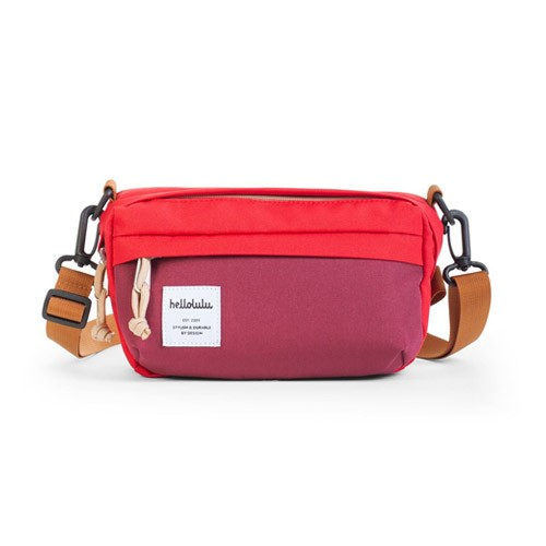 Hellolulu Hollis Mini All-Day Bag - Red Burgundy