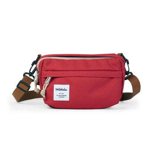 Hellolulu Hollis Mini All-Day Bag - Red