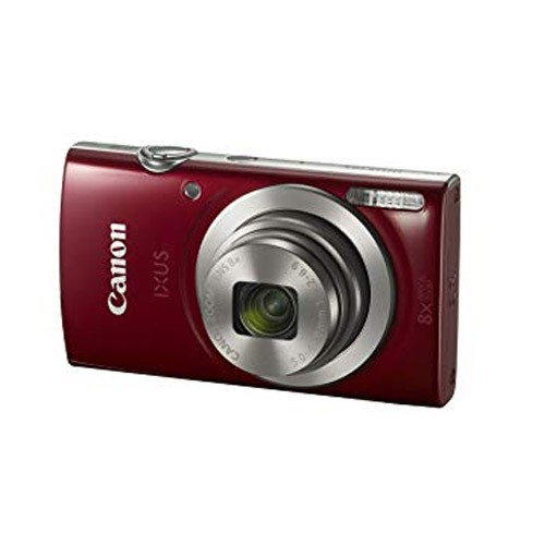 Canon Digital Camera IXUS 185 - Red