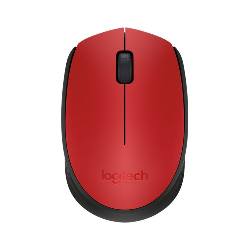 Logitech Wireless Mouse M171 - Red