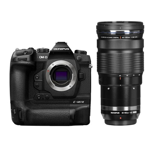Olympus Mirrorless Digital Camera OM-D E-M1X with Lens M. Zuiko 40-150mm PRO