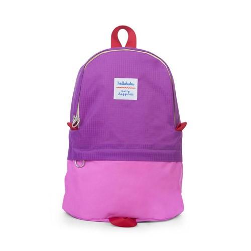 Hellolulu Pili All-Day Backpack - Purple/Neon Pink
