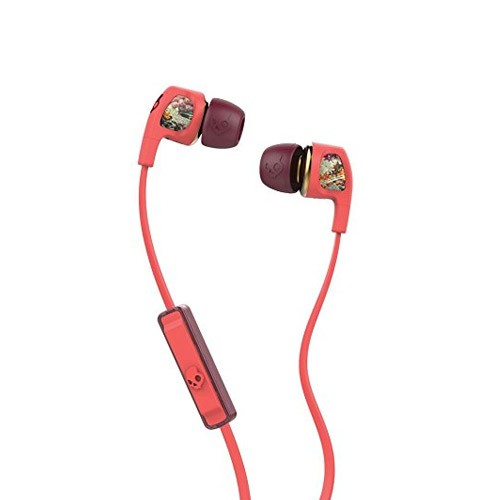 Skullcandy SC Dime With Mic 1 S2PGGY-419 - Coral Pink Red