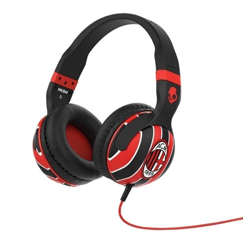 Skullcandy Hesh 2 Over Ear Headphone with Mic SGHSFY-124 AC Milan - Red Black