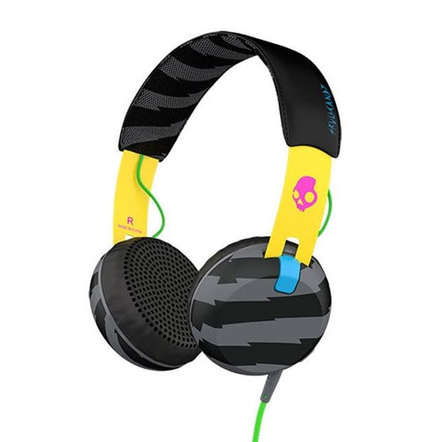 Skullcandy Grind With Mic 2 S5GRHT-466 - Local Yellow