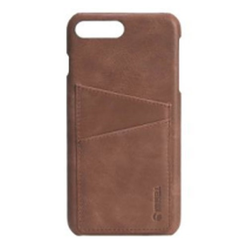 Krusell Card Cover for iPhone 7/8 Plus Sunne 2 - Brown