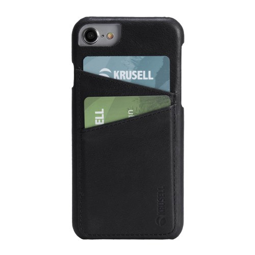 Krusell Card Cover for iPhone 6/6s/7/8 Sunne 2 - Black