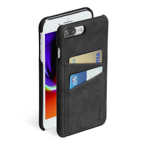 Krusell Card Cover for iPhone 7/8 Plus Sunne 2 - Black