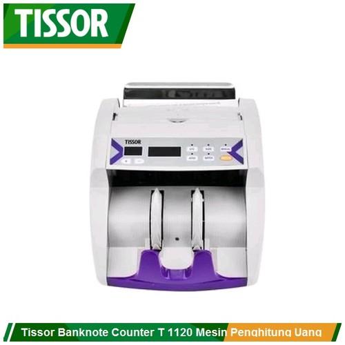 Tissor T1120 Banknote Counter Mesin Penghitung Uang