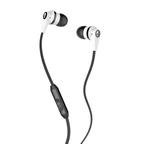 Skullcandy Ink'd 2.0 In-Ear Headphones with Mic S2IKFY-074 - White Black