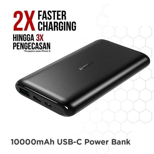 Aukey Powerbank 10000 mAh USB C AiQ - 500330