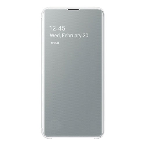Samsung Clear View Cover Galaxy S10e - White