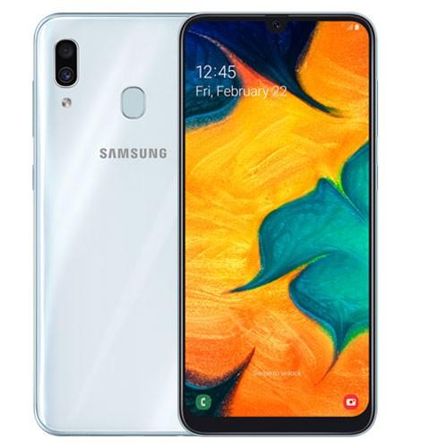 Samsung Galaxy A30 (RAM 4GB/64GB) - White