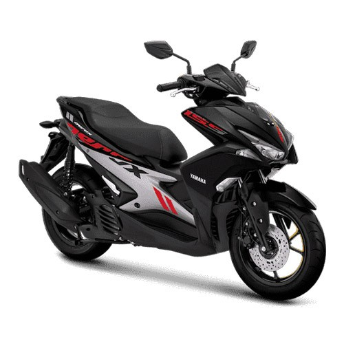 Yamaha Sepeda Motor Aerox 155cc VVA - Black (Tangerang)