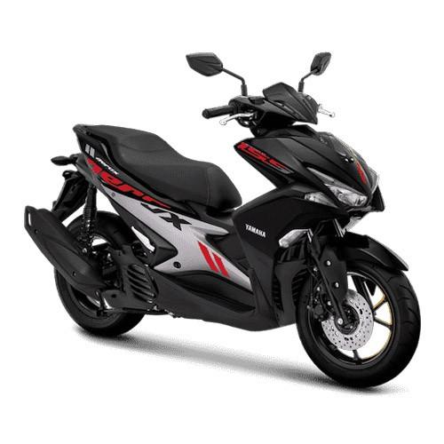 Yamaha Sepeda Motor Aerox 155cc VVA - Black (Bogor)