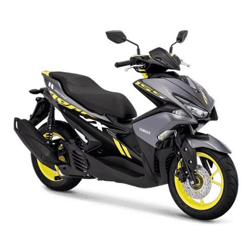 Yamaha Sepeda Motor Aerox 155cc VVA - Grey (Tangerang)