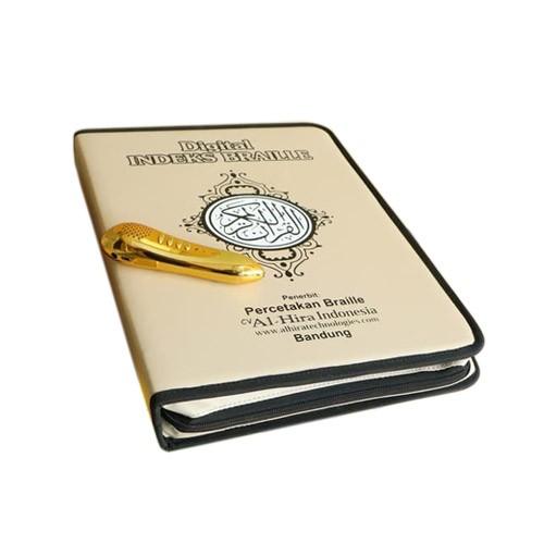 Al Quran Digital Pen Indeks Braille - Cream