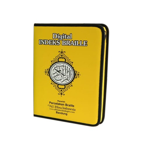 Al Quran Digital Pen Indeks Braille - Yellow