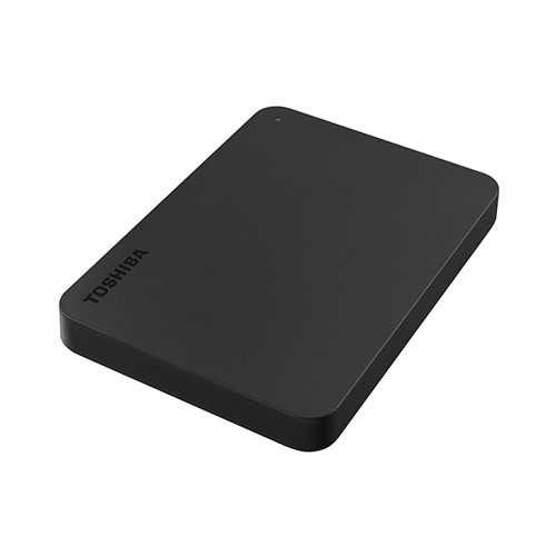 Toshiba Canvio Basic 3.0 Portable Hard Drive 1TB - Black