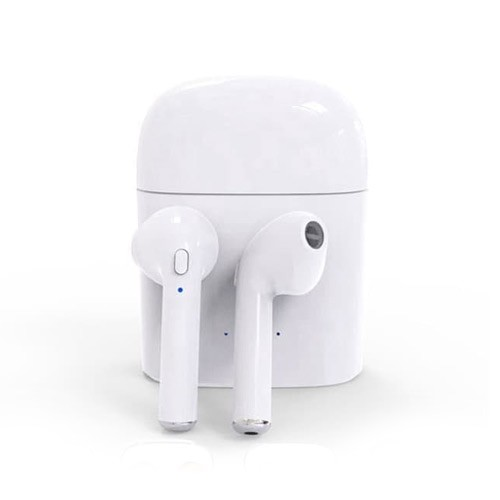 Earphone Twins Wireless Mini HBQ I7S TWS - White