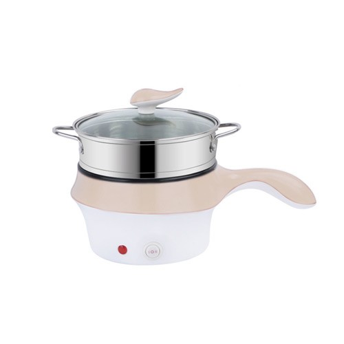 Multifunctional Electric Fry Pan (Panci Listrik Lapisan Keramik) - Cream