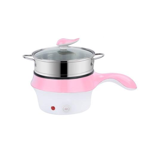 Multifunctional Electric Fry Pan (Panci Listrik Lapisan Keramik) - Pink