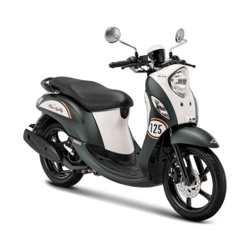 Yamaha Sepeda Motor New Fino Sporty 125cc Blue Core - Retro Green (Bekasi & Depok)