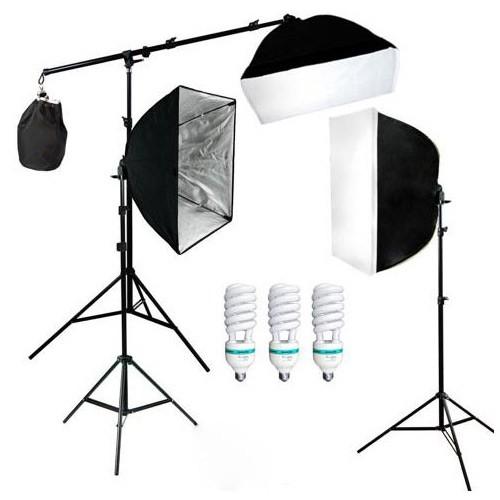 Photography Studio Lightning Kit - D-HZ7 - Black