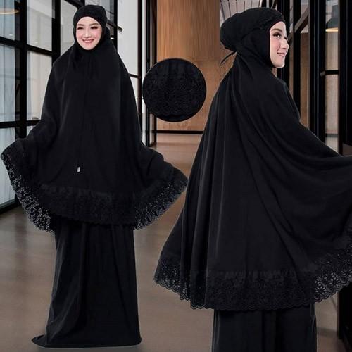 Mukena Syafina 178926 - Black