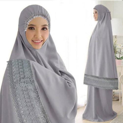 Mukena Zakiyah 171450 - Grey
