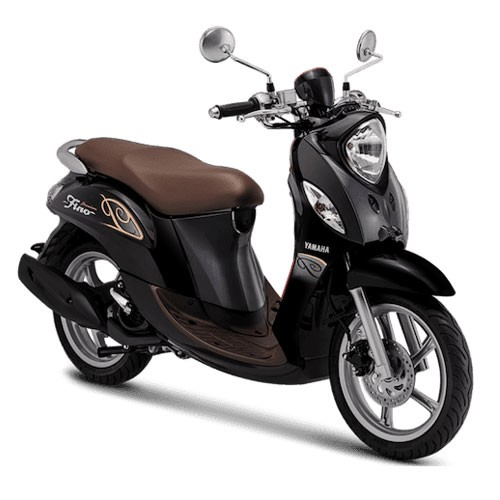 Yamaha Sepeda Motor New Fino Premium 125 Blue Core - Black Ekspresso (Bekasi & Depok)