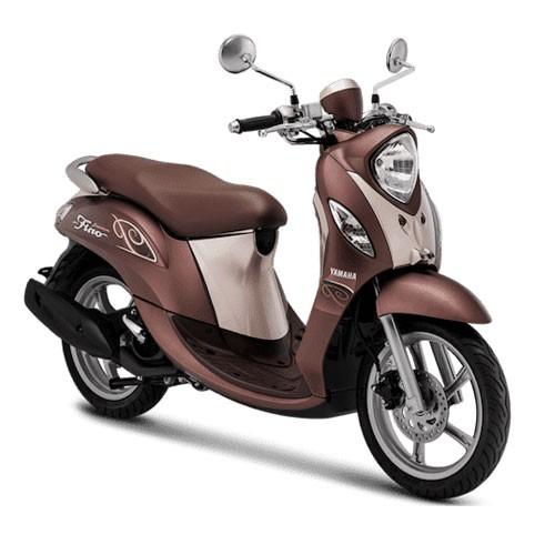 Yamaha Sepeda Motor New Fino Premium 125 Blue Core - Caramel Brown (Bekasi & Depok)