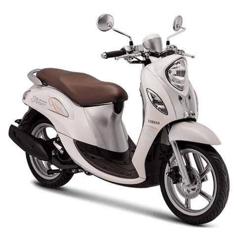 Yamaha Sepeda Motor New Fino Premium 125 Blue Core - White Latte (Bekasi & Depok)