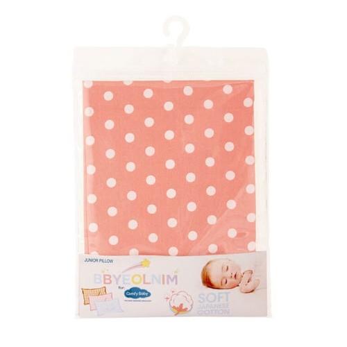 Comfy Baby Junior Sarung Bantal Katun Jepang - Peach