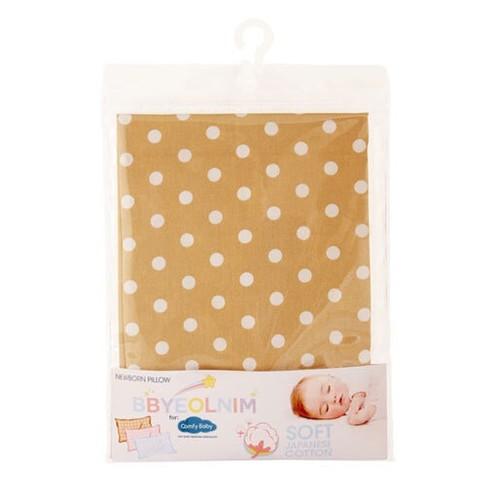 Comfy Baby Newborn Sarung Bantal Katun Jepang  - Peach