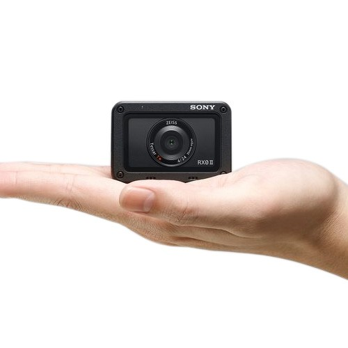 Sony Cyber-Shot DSC-RX0 II Action Cam - Black