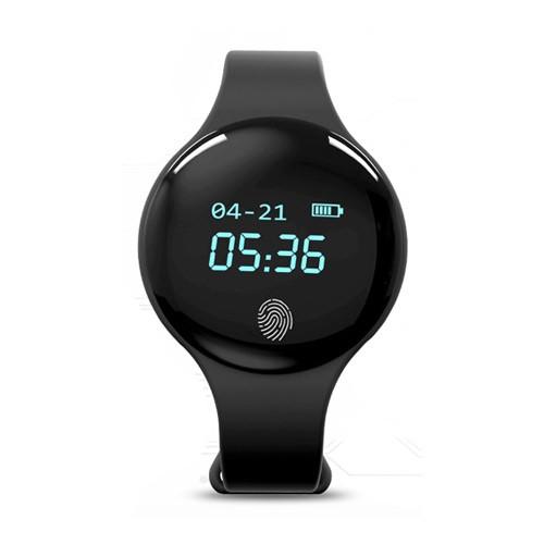 Synoke Smartwatch Digital Pedometer Sleep Monitor Calorie - 9200 - Black