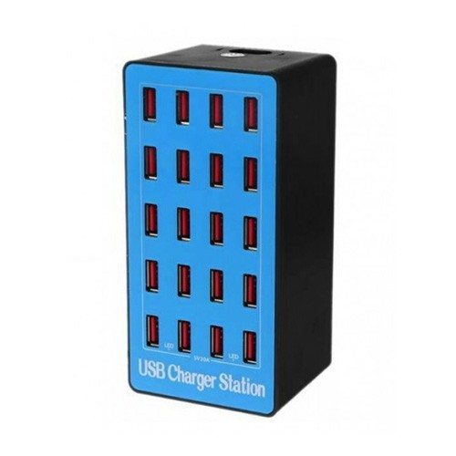 Rockware USB Wall Smart Charging Station 20 Port 100W 20A - A5 Plus