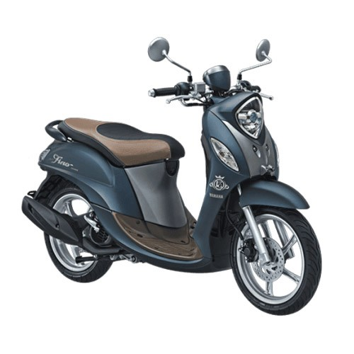Yamaha Sepeda Motor New Fino Grande 125cc Blue Core - Royal Blue (Bekasi & Depok)