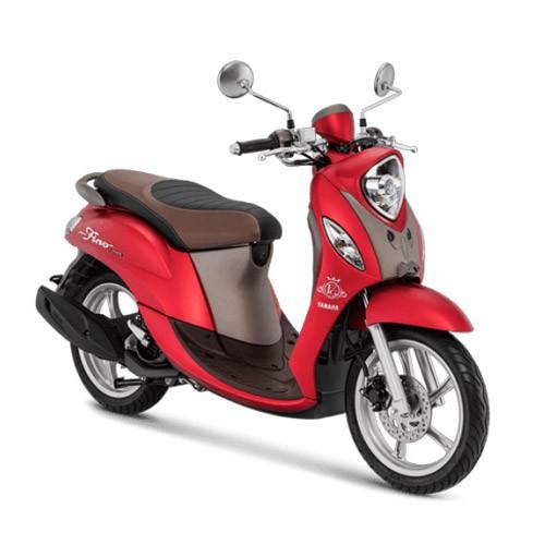 Yamaha Sepeda Motor New Fino Grande 125cc Blue Core - Luxury Red (Bekasi & Depok)