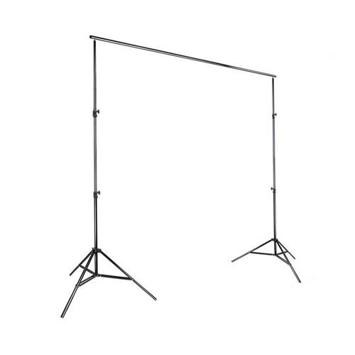 Bracket Stand 3m untuk Backdrop Foto Studio - Black