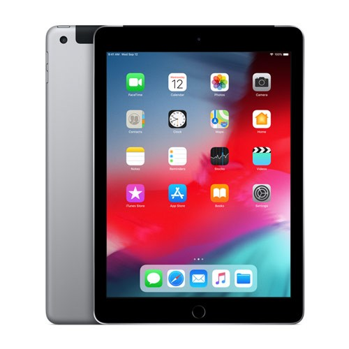 Apple iPad 6 (9.7 inch) Wi-Fi + Cellular 128GB - Space Gray