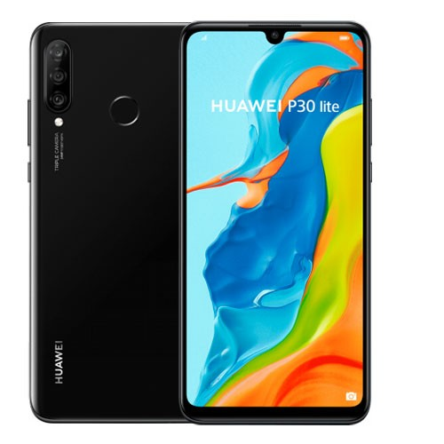 Huawei P30 Lite (RAM 6GB/128GB) - Midnight Black