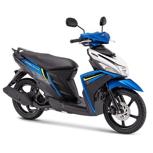 Yamaha Sepeda Motor Mio M3 125 Blue Core - Admired Blue (Banten)