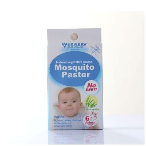 US Baby Mosquito Patch (Stiker Anti Nyamuk) isi 24pcs
