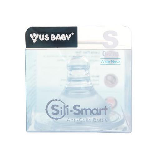 US Baby Silismart Wide Lactaflex Teat - S