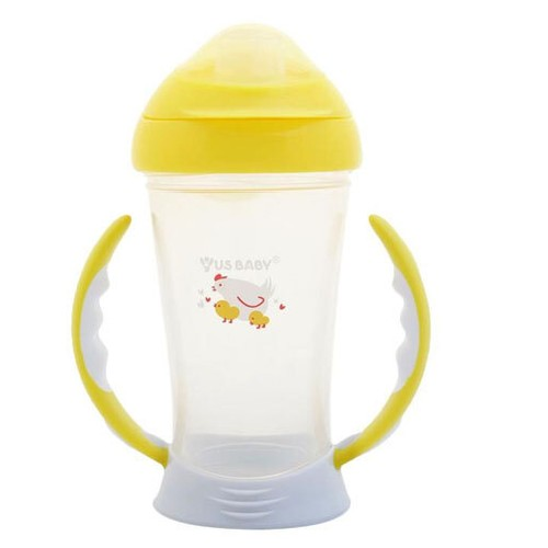 US Baby Spout Training Cup 245ml - Yellow