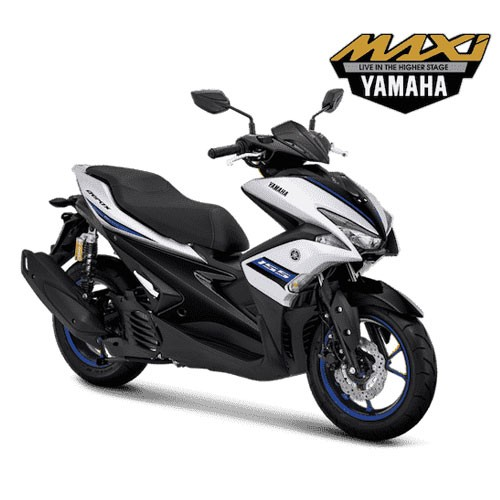 Yamaha Sepeda Motor Aerox 155 VVA R-Version - Silver (Bogor)