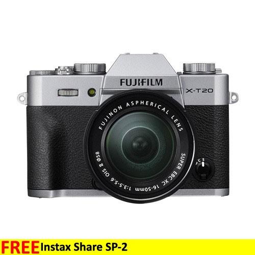 Fujifilm Mirrorless Digital Camera X-T20 KIT 16-50mm - Silver