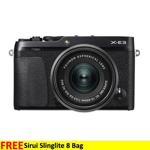 Fujifilm Mirrorless Digital Camera X-E3 with 15-45mm - Black